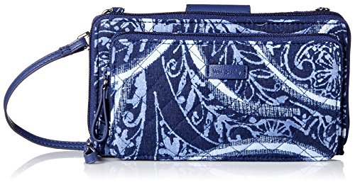 Vera Bradley Iconic Deluxe All Together Crossbody, Signature Cotton, Indio