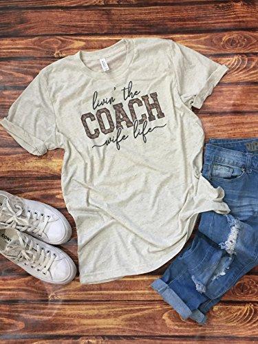 Womens Coach Wife LifeTee Unisex Tshirt Football Tee Baseball Shirt