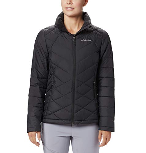 COLUMBIA Women's Heavenly Jacket, Black, 1X