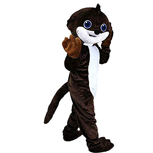 Krister Brown Beaver mole Mascot Costume Adult Halloween Costume
