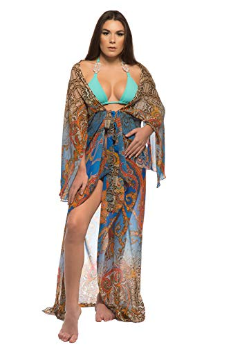 Empire of summer swimwear Women's Cover Up Eastern Print (fits S-L)