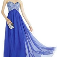 Top-Sexy Evening Dress Size US14 Blue