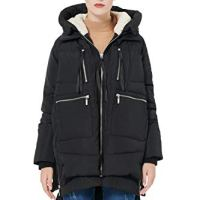 Orolay Women's Thickened Down Jacket Black Xs