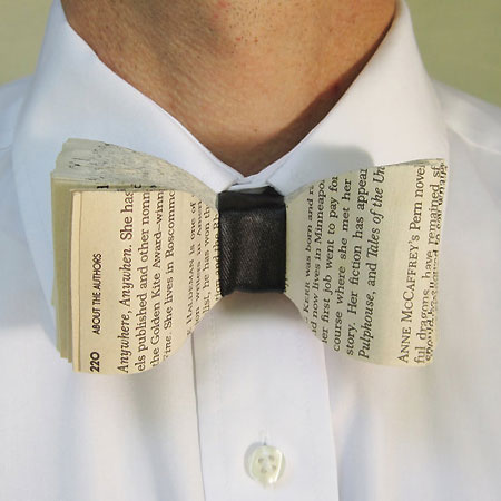 Upcycled Paperback Bow Tie