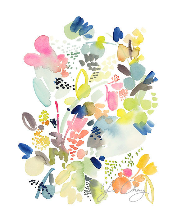 Beautiful watercolours by Yao Cheng