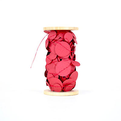 Magenta Confetti by Kristina Marie