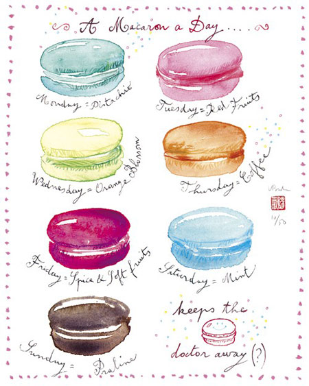 A macaron a day by Lucile's Kitchen