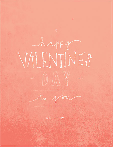 Free Valentine's Day download from Eva Black Design