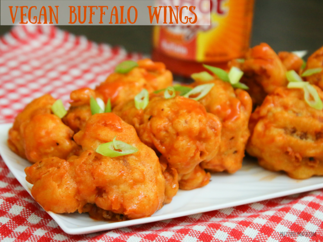 Vegan Buffalo Wings | Pretty Polymath