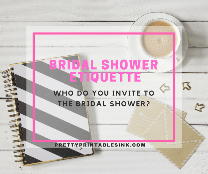 Invite To The Bridal Shower