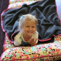DIY Nap Mat/Bed Roll