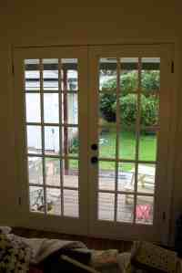 DIY French Door Curtain Panel Tutorial | Pretty Prudent