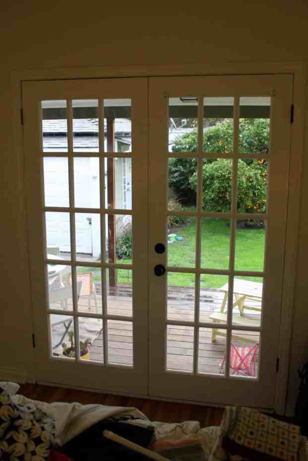 Drapes On French Doors Home Design Ideas