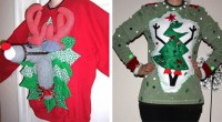 Ugly Christmas Sweater Door Decorations ...