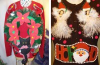Ugly Christmas Sweater Door Decorations | www.indiepedia.org