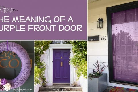 Purple Front Door Meaning (with purple door examples)