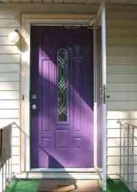 Purple Front Door Meaning, Paint Your Door Puprle | Pretty ...