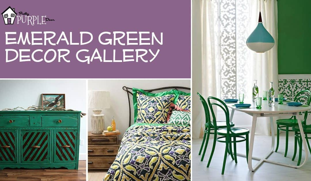 Decorating with Emerald Green