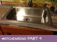 Kitchen Renovation Part 4: Who knew sinks could be so dreamy?