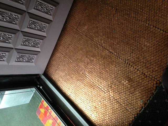 Copper Penny Floor Part 4 Of 4 Sealing The Floor