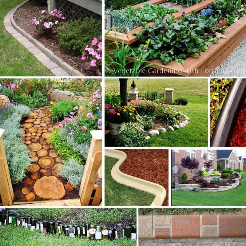 Stone Edging And Garden Edging