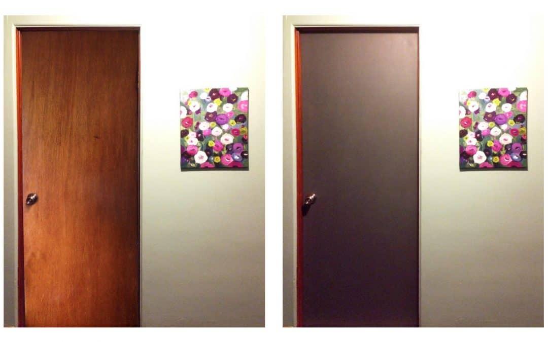 Painting Interior Doors & Painting Interior Doors | Pretty Purple Door