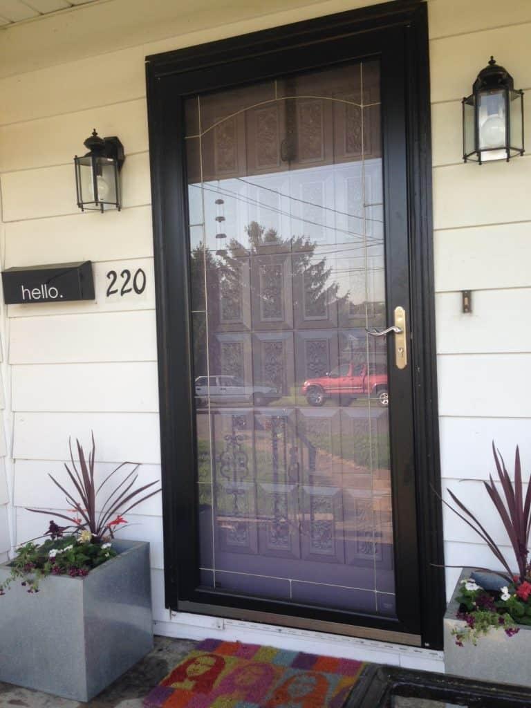 Paint Porch Sconces With Spray Paint Pretty Purple Door