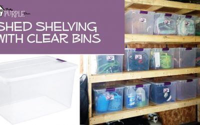 shelving using bins