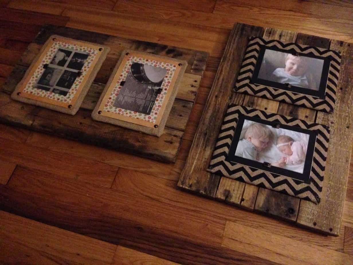 Top Pallet Picture Frames For Sale