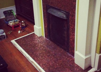 Cody's Penny Fireplace Surround