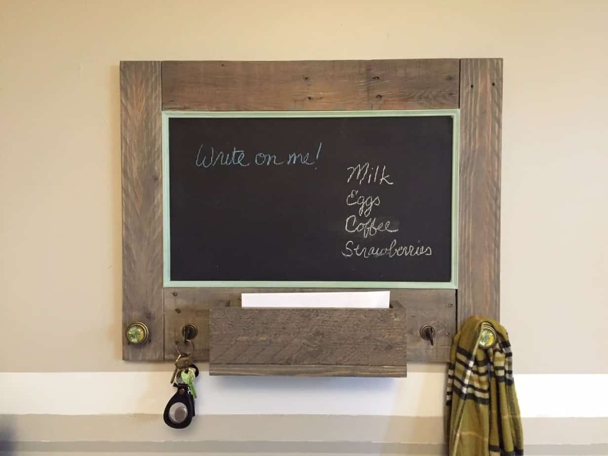 Rustic Message / Command Center for Sale on Etsy