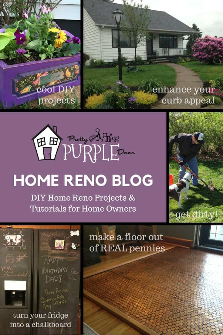 DIY Home Renovation Blog | PrettyPurpleDoor.com