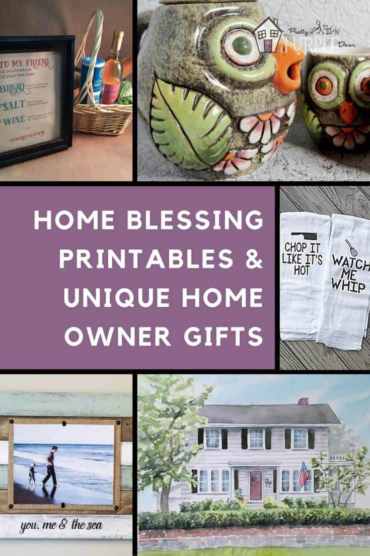 HOME BLESSING PRINTABLES & UNIQUE HOME OWNER GIFTS | PrettyPurpleDoor.com
