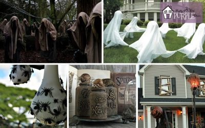 Tastefully Spooky DIY Halloween DIY Project Roundup