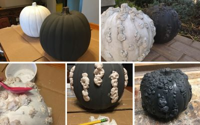 DIY Warty Pumpkin Tutorial