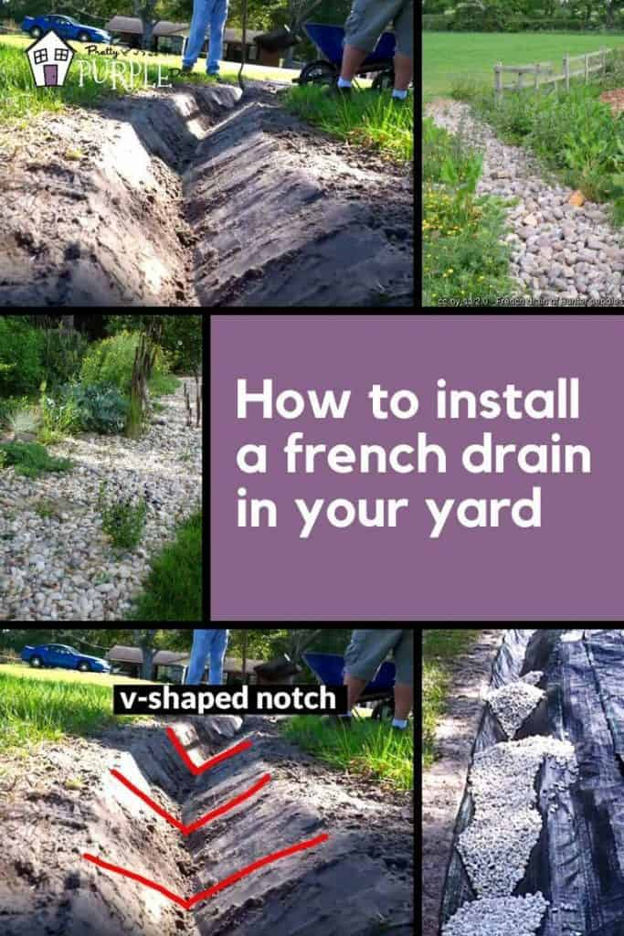 How to install a french drain in your yard