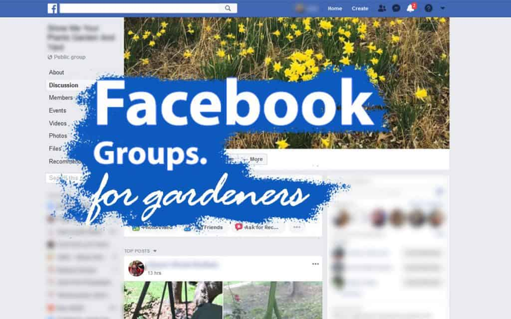 Facebook gardening groups