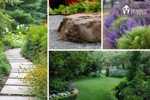 Perennial Garden Plans for Partial Sun or Shade   Pretty ...