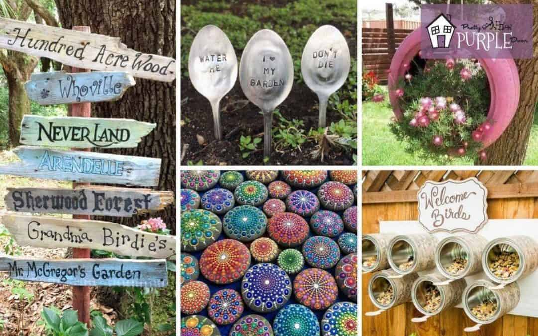 Garden art projects for grown ups in need of creative inspiration