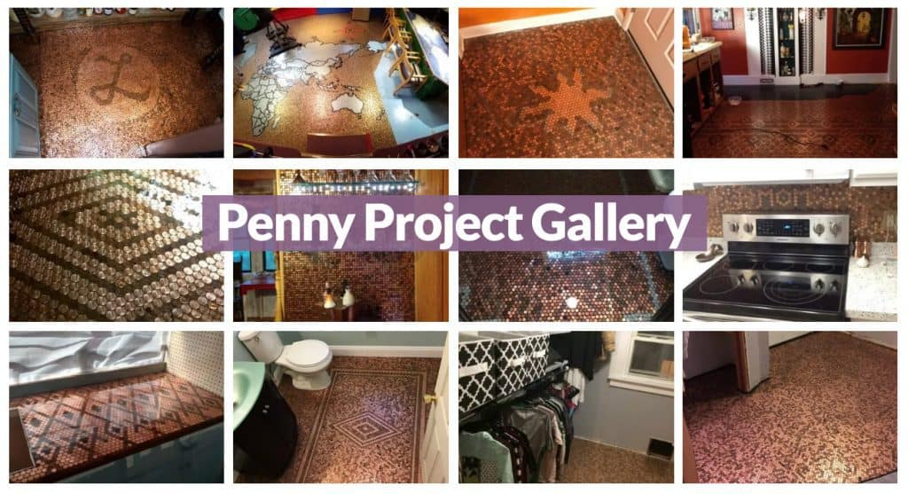 Penny Floor Project Gallery - Examples