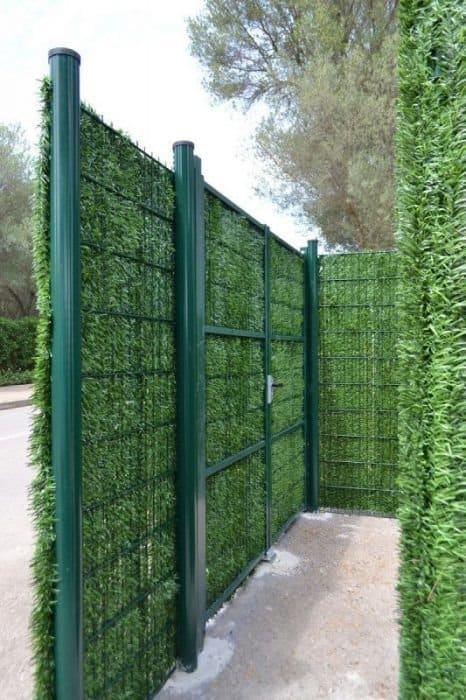 Faux Ivy Privacy Panels