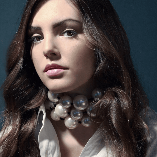 Autumn Jewellery Trends - Statement Pearl Choker Necklace