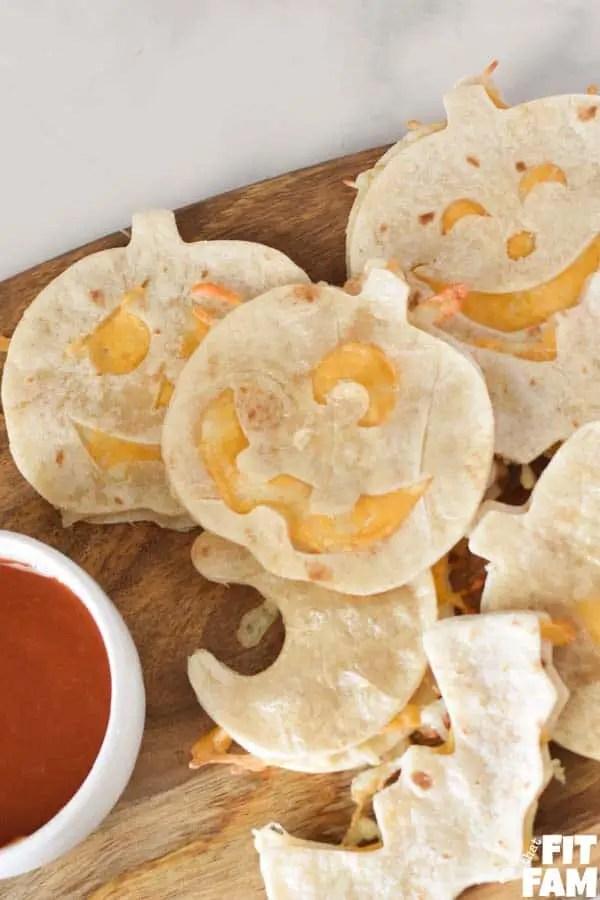 Halloween Quesadillas Finger Food