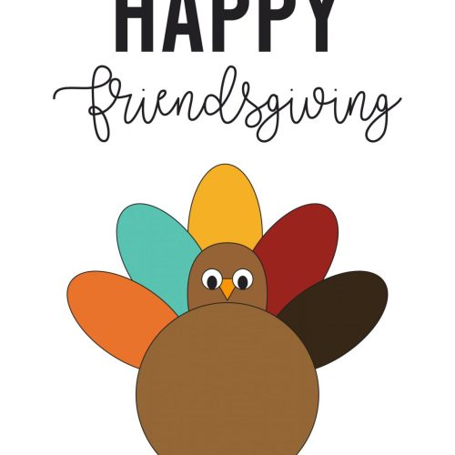 Free Printable Friendsgiving Party Collection