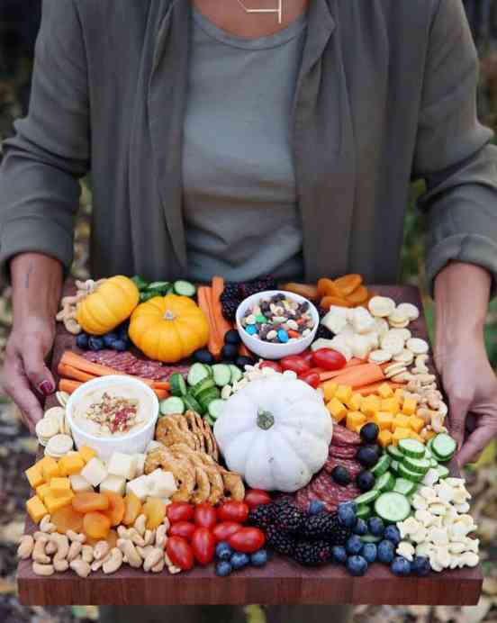 kids thanksgiving party ideas charcuterie board for kids