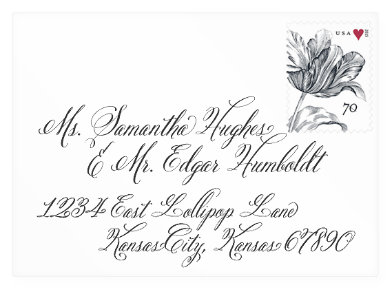 Invites By Jen Fonts Wedding Invitation Customization Options