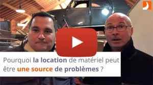 Pourquoi la location de matériel peut être une source de problèmes ?