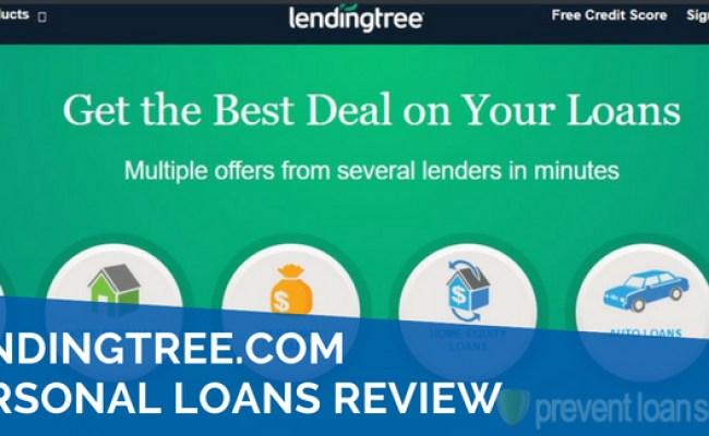 Lendingtree Personal Loans Review 2019 Rates