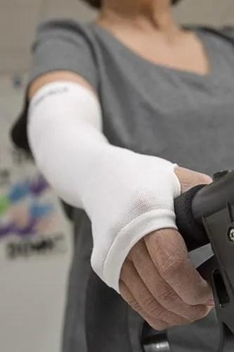 White GeriGlove - Thin Skin Protector