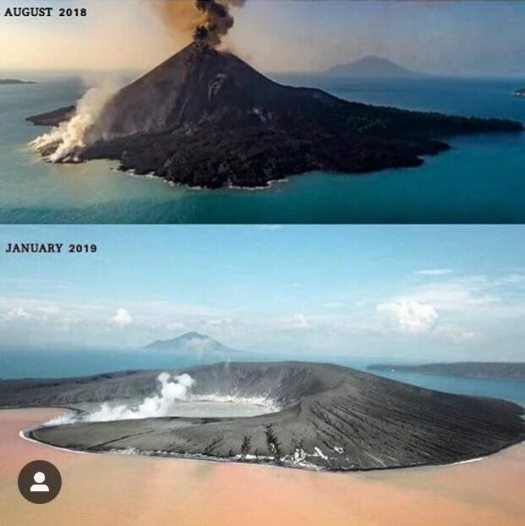 Eruzione 2018 Anak Krakatoa